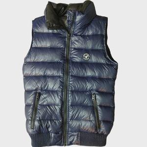 American Eagle Blue Vest XS